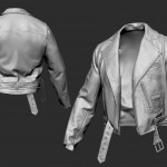 3D Character 3D model clothes