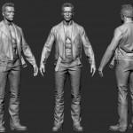 3D Character 3D model man 001