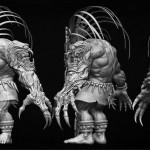 3D Modeling Creature 001