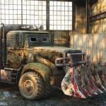 3D Modeling Model Truck 001